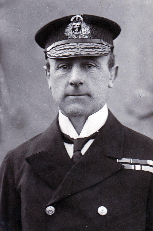 Admiral Sir John Rushworth Jellicoe in supreme command of Britain's Grand Fleet © Imperial War Museum