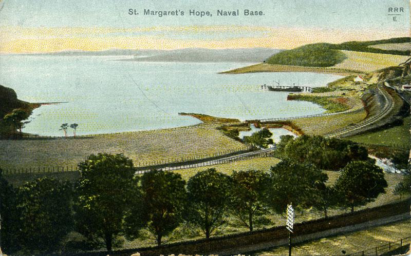St Margaret's Hope, Naval Base ©  Imperial War Museum.