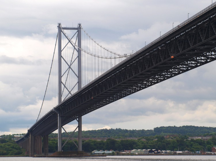 The Forth Road Bridge - opened by Her Majesty The Queen