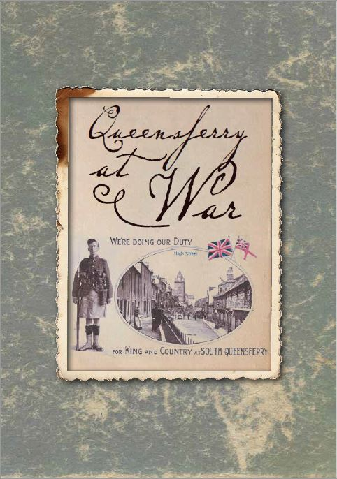 Cover of Queensferry At War book.